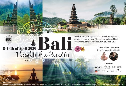 Bali 8-18 April 2020 – Thoughts Of A Paradise