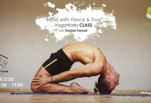 Bend with Fierce and Trust – YogaWorks Class with Thodori Fameli